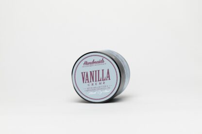 Vanilla Face Cream in glass jar