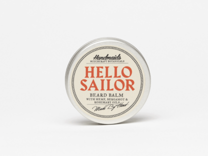 Beard Balm on white background